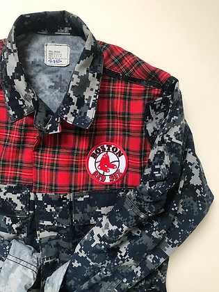 US Navy Camo with Plaid