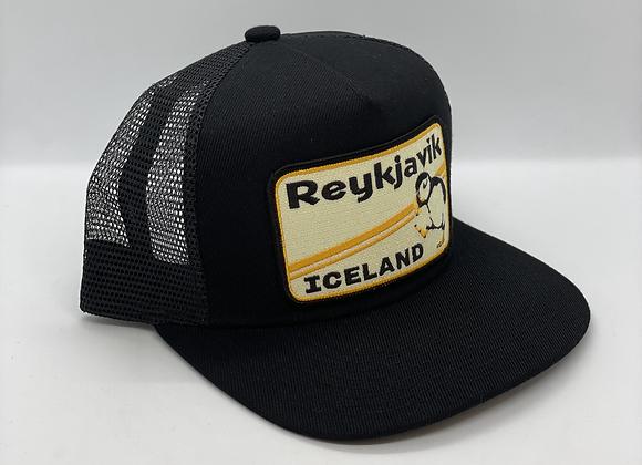 Reykjavik Iceland Pocket Hat