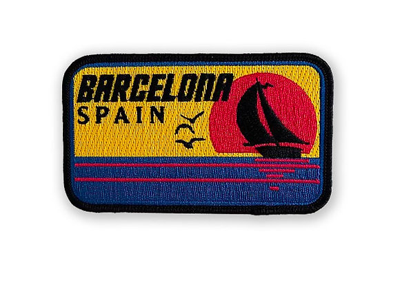 Barcelona Spain Patch