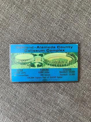 Vintage Oakland-Alameda County Coliseum Complex Magnet