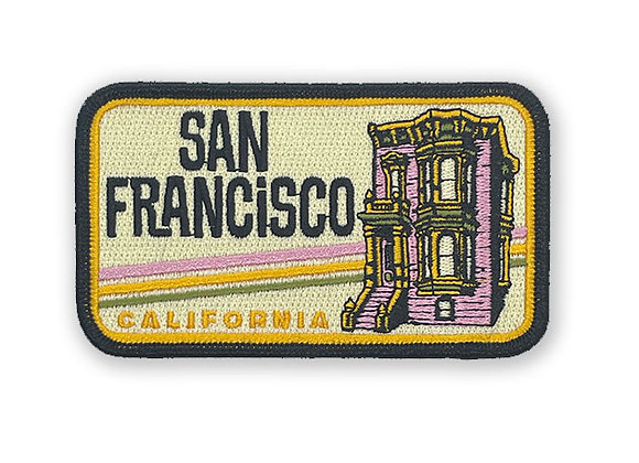 San Francisco Patch (Pink Victorian)