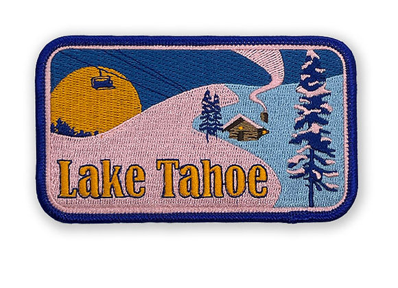 Lake Tahoe Patch (Winter Scene)