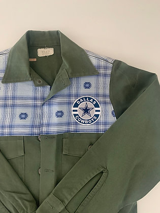 Dallas on Vietnam Field Jacket