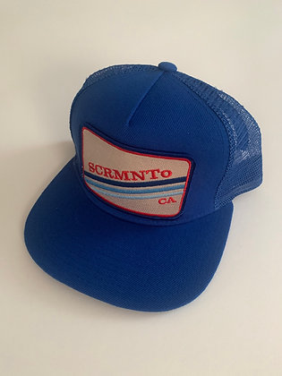 Sacramento Minimal Text Pocket Hat