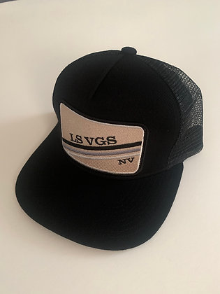 Las Vegas Minimal Text Pocket Hat