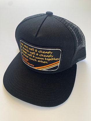 Hemingway Quote Pocket Hat