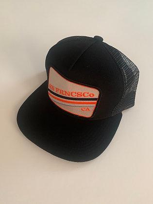 San Francisco Minimal Text Pocket Hat