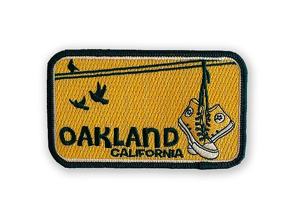 Oakland Shoes Patch (A's)