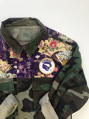 Eastern Fabric in Purple