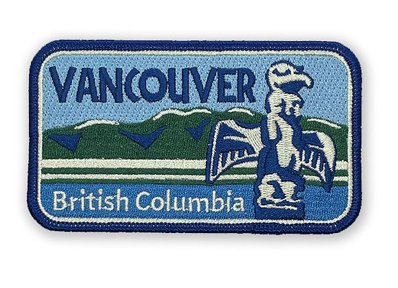 Vancouver British Columbia Patch
