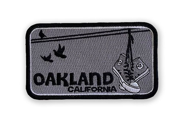 Oakland Shoes Patch (Raiders)