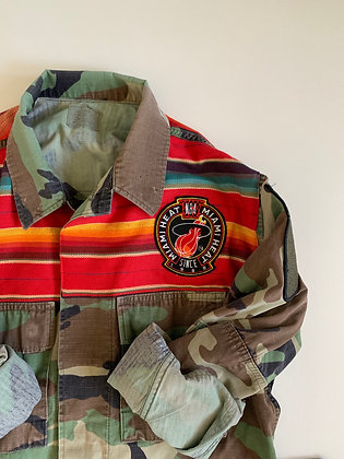 Miami 90's patch on South West Fabric