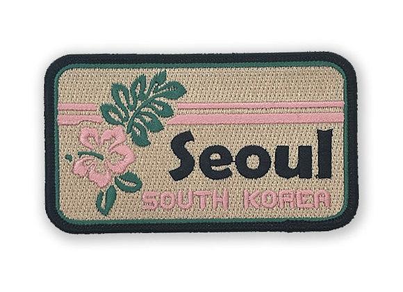 Seoul South Korea Patch