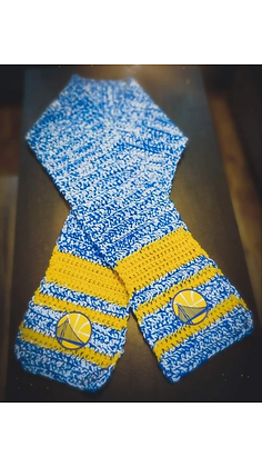 Dubs Hand Knit Scarf