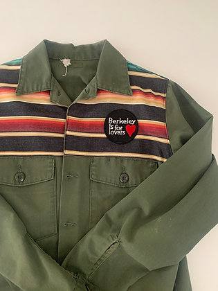 Berkeley is for Lovers, on Vietnam Field Jacket