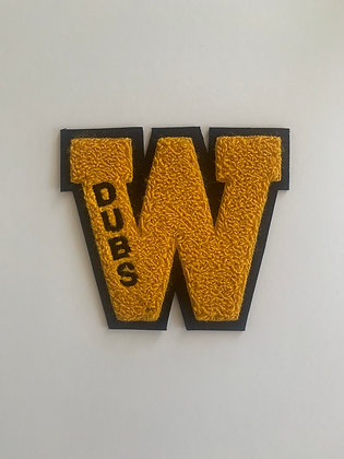Dubs Chenille Patch