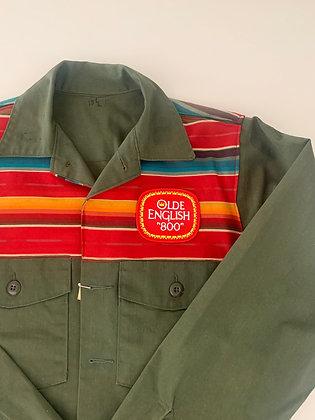 OE Patch on Vietnam Field Jacket