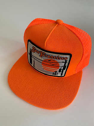 San Francisco Pocket Cap in Giants Colors