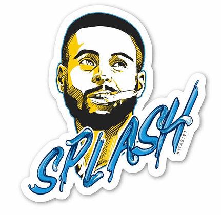 Steph goes splash