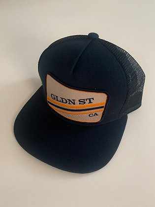 Golden State Minimal Text Pocket Hat
