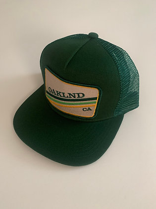 Oakland Minimal Text Pocket Hat