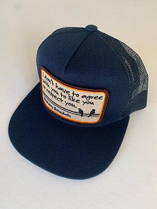 Bourdain Quote Pocket Hat