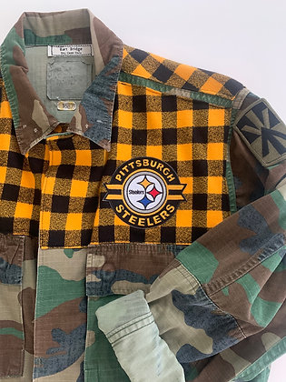 90's flannel for Pittsburgh