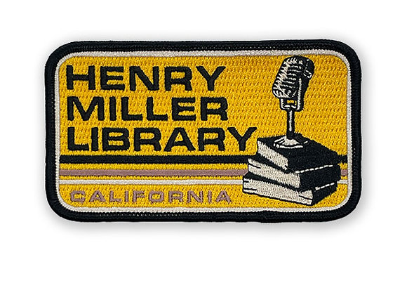 Henry Miller Library Patch