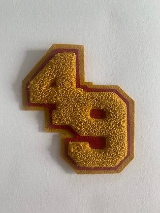 49 Chenille patch