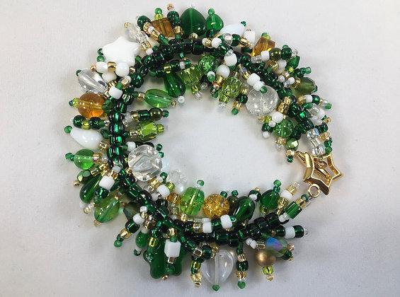 Hand Crafted Crystal Bracelet