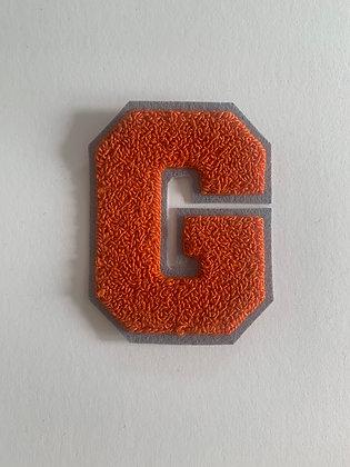 Chenille letterman G