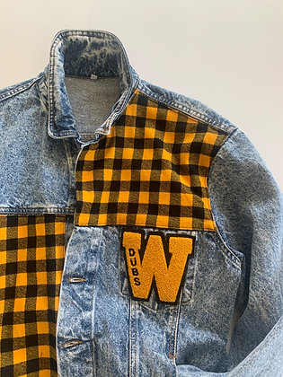 Vintage Denim with Flannel and Chenille