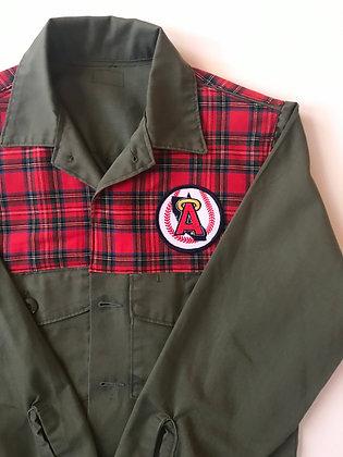 Classic Plaid on Vietnam Field Jacket