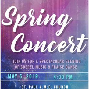'19 Spring concert