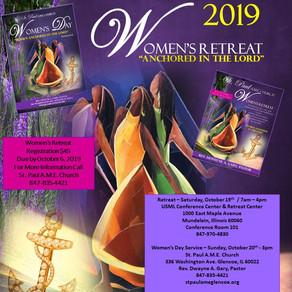 '19 women's retreat