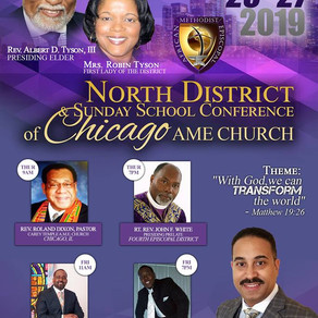 NORTH DISTRICT CONFERENCE 2019