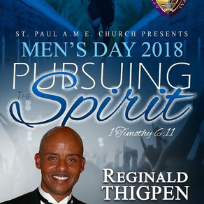 """Pursing the Spirit"" Men's Day Worship"