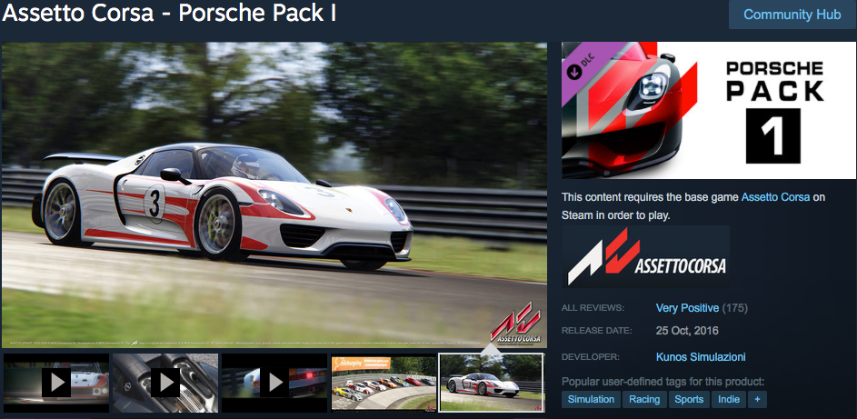 Porsche Dream Pack