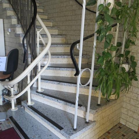 Treppenlift im Haupthaus
