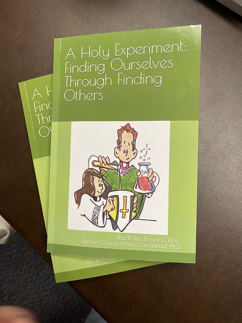 """Signed Copy of """"A Holy Experiment:  Finding Ourselves through Finding Others"""""""