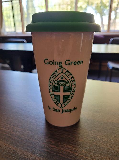 Going Green in San Joaquin travel mug