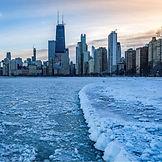 Chicago mas frio que la antartica