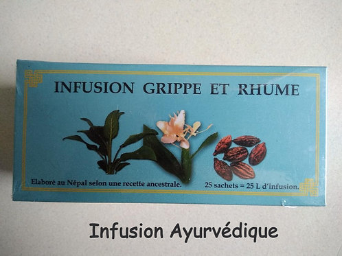 Infusion Ayurvédique Grippe et Rhume