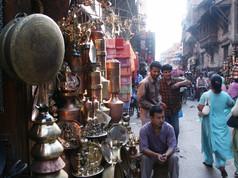 Les rues de Kathmandu.