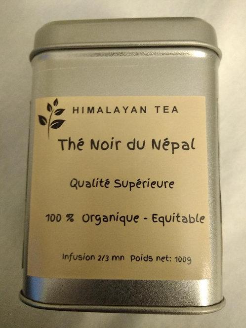 Thé Noir organique, 100g dans sa boite métal.
