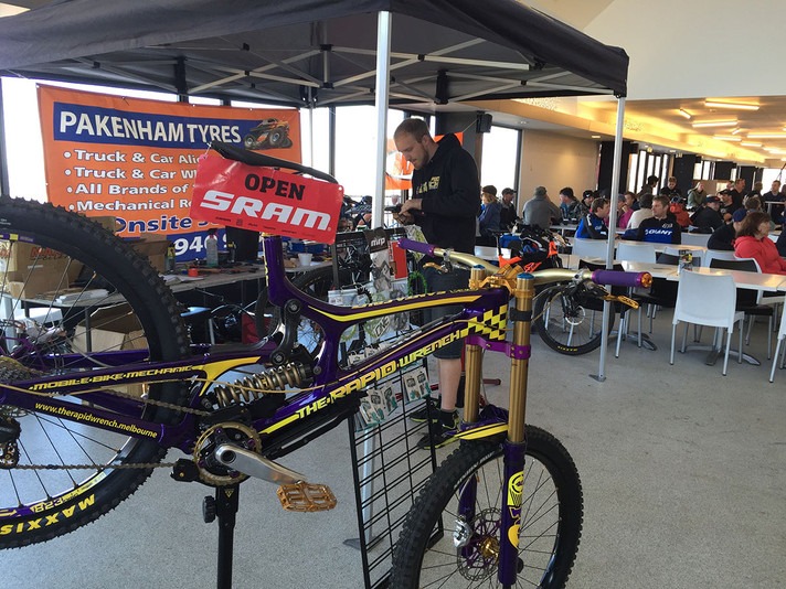 Event Support: Victorian Enduro Tour 2015, Round 2 at Lake Mountain