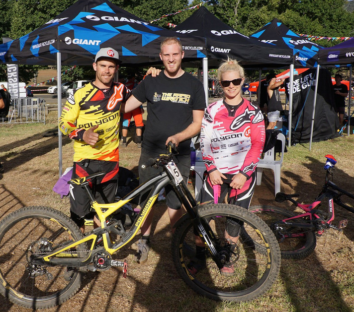 The Rapid Wrench Supports Mick and Tracey Hannah at MTBA Nationals in Bright