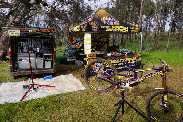 Mountainbike event support