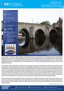 CCH Bridge Remediation - Old Elvet Bridg