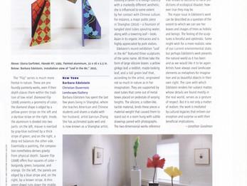 Sculpture Magazine,  Review Massachusetts, Gloria Garfinkel, George Walter Vincent Smith Art Museum.
